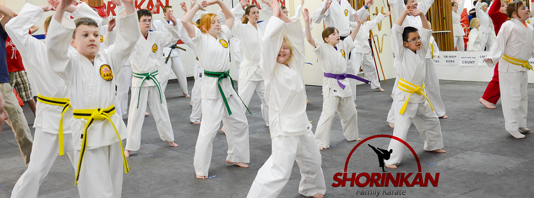 exercise at shorinkan family karate