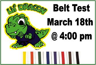 lil dragon belt test