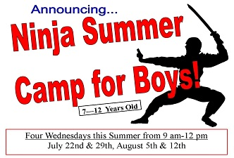 Ninja Summer Camp